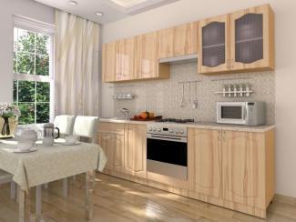 Кухонный гарнитур прямой Капучино - Мебельная фабрика «Эстель»