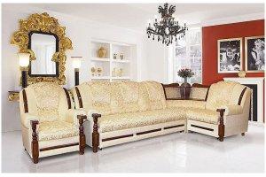 Диван Ахтамар 3 угловой с баром - Мебельная фабрика «Ахтамар», г. Барнаул