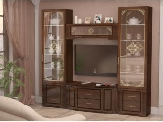 Гостиная Виктория дуб тортона - Мебельная фабрика «Ижмебель»