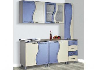 Кухонный гарнитур прямой Волна - Мебельная фабрика «Северная Двина»