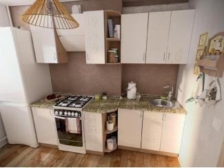 Кухня прямая Флёр - Мебельная фабрика «Евромебель»