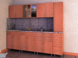 кухня прямая «Стандарт» ЛДСП - Мебельная фабрика «Мир мебели»