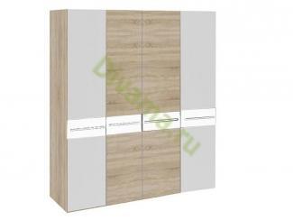 Шкаф распашной Алина 4 - Мебельная фабрика «Фиеста-мебель»