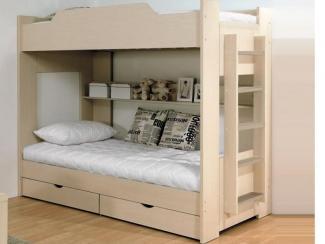 Кровать Двухъярусная - Мебельная фабрика «Боровичи-Мебель»