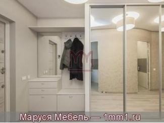 Белая прихожая со шкафом-купе - Мебельная фабрика «Маруся мебель»