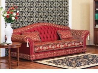 Элит диван красного цвета T13 - Импортёр мебели «Конфорт»