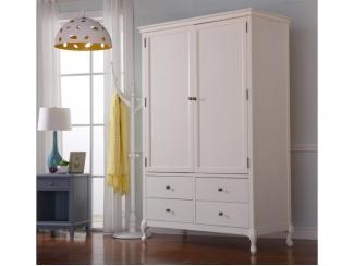 Белый шкаф в спальню Прованс - Импортёр мебели «CОMMODA (Китай, Таиланд)», г. Москва