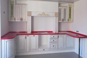 Кухня из массива дерева 10 - Мебельная фабрика «МеТра», г. Москва