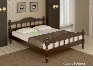 Кровать из массива сосны Точенка