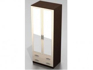 Распашной шкаф-16 с зеркалами