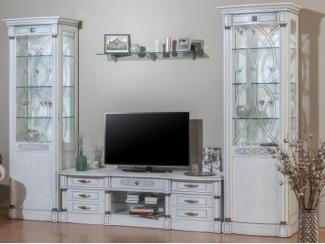 Элеганца гостиная белое золото - Мебельная фабрика «Мебель Черноземья»