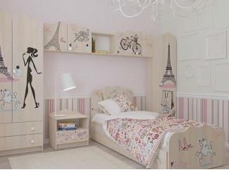 Мебель для юных леди Париж - Мебельная фабрика «Династия»