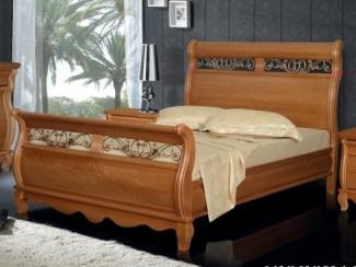 Кровать из сосны Сорренто - 2 спинки - Мебельная фабрика «Фокин»