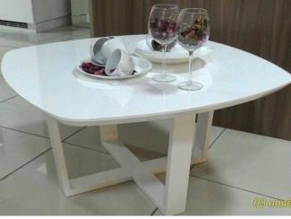 Белый столик - Мебельная фабрика «Grol»