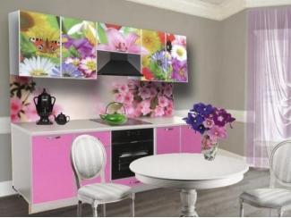 Розовая кухня Модерн 13