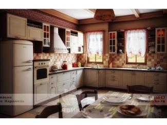 Кухня Вильна Карамель - Мебельная фабрика «Абико»