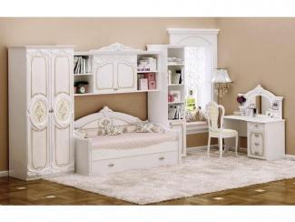 Спальный гарнитур Леди Роза - Мебельная фабрика «ИнтерДизайн»