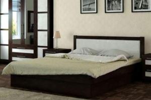 Кровать Веста 2 подиумная - Мебельная фабрика «Каприз»