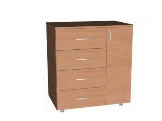 Комод  1 Д 4 ящ - Мебельная фабрика «Висма-мебель»