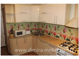 Кухня МДФ эмаль