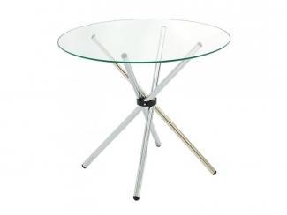 Круглый стол из стекла Худро  - Мебельная фабрика «Мебель из стекла»