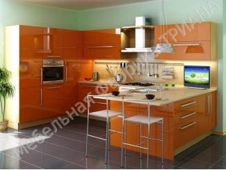 Оранжевая кухня Квинкве - Мебельная фабрика «Триана»