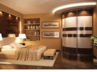 Радиусный шкаф-купе - Мебельная фабрика «Дом мечты»