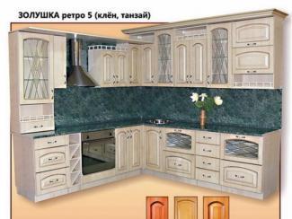 кухня угловая Золушка Ретро 5  - Мебельная фабрика «Киржачская мебельная фабрика»