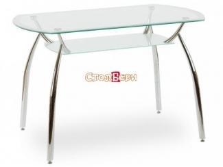 Стол стеклянный обеденный Олимп ПО - Мебельная фабрика «СтолБери»