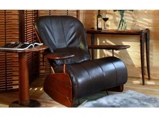 Кресло-качалка для гостиной в охотничьем стиле - Импортёр мебели «Arredo Carisma (Австралия)»