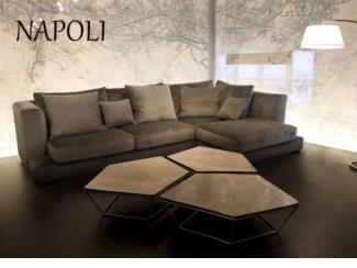Угловой диван Неаполь - Мебельная фабрика «Lorusso divani»