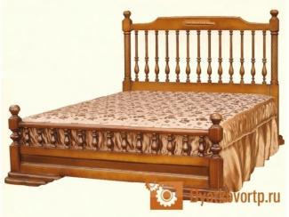 Кровать Екатерина массив