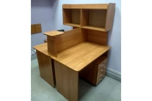 Стол письменный для офиса10 - Мебельная фабрика «Орвис»