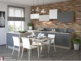 Простая кухня Скай  - Мебельная фабрика «Первая мебельная фабрика»