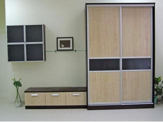 Качественный шкаф-купе Ганна  - Мебельная фабрика «Анкор»
