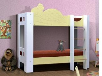 Кровать детская Черепашка 2хярусная 2