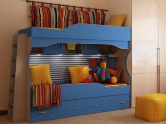 Двухъярусная кровать Чибис 2 - Мебельная фабрика «Порта»