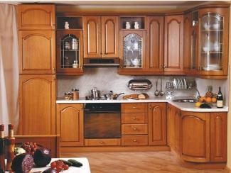 Кухня угловая «Массив 1» - Мебельная фабрика «Мебель Поволжья»