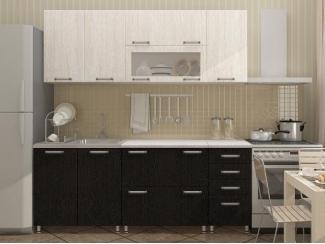 Модульная кухня Белое и черное дерево - Мебельная фабрика «Disavi»