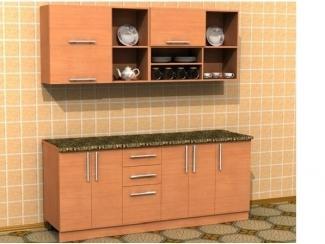 Кухня с фасадом из ЛДСП 2 - Мебельная фабрика «Кух-Мастер»