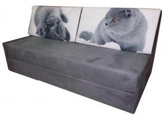 Диван прямой Кошки - Мебельная фабрика «Мега-Проект»