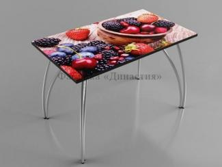 Стол обеденный Ягоды - Мебельная фабрика «Династия»