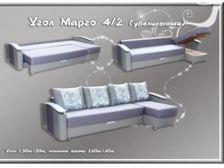 Угловой диван Марго 4-2 увеличенный