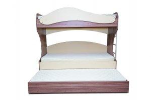 Детская двухъярусная кровать с большим ящиком - Мебельная фабрика «ЛТиК»