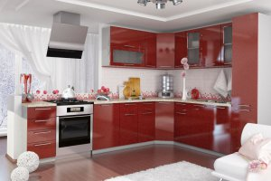 Кухонный гарнитур Стиль - Мебельная фабрика «Славные кухни (ИП Ларин В.)», г. Ульяновск