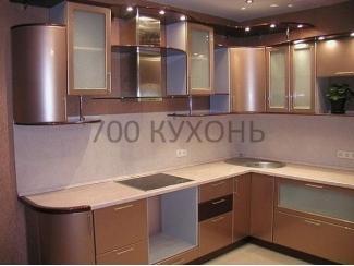 Кухня угловая с подсветкой  - Мебельная фабрика «700 Кухонь»