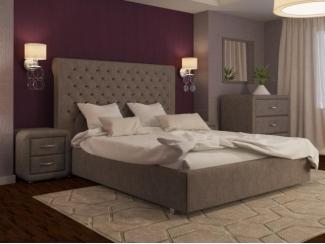 Кровать Богема вельвет 96 - Мебельная фабрика «ARISTA»