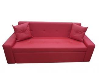 Красный прямой диван - Мебельная фабрика «Идиллия»