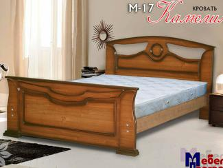 Кровать «Камелия М-17» - Мебельная фабрика «Мебель Прогресс»