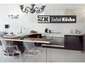Кухонный гарнитур угловой Бонн Антрацит - Мебельная фабрика «Zuchel Kuche (Германия-Белоруссия)»